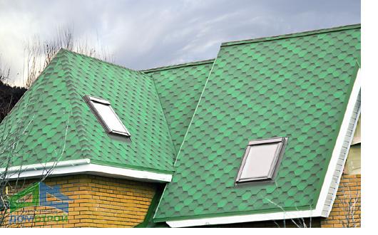 Крыши ондулином своими руками