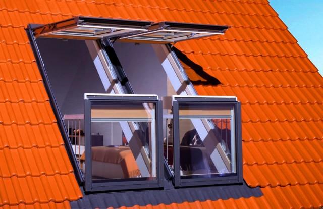 Окна для крыши частных домов